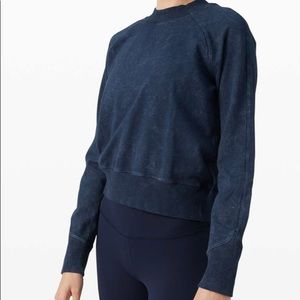Lululemon all yours terry crew NWT.